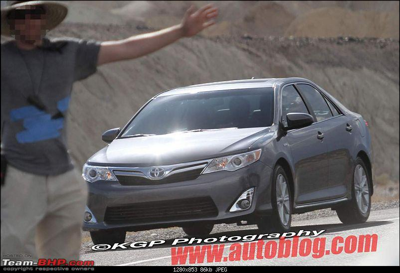 2012 Toyota Camry. EDIT : Totally undisguised pics on Page 2!-12camhybridspy11.jpg
