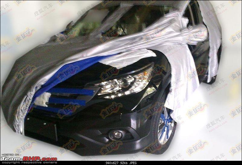 Honda CR-V 2012. EDIT : Brochure pics leaked!-2012hondacrvspyshots4.jpg