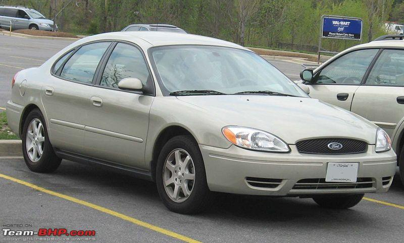 "The 2008 Ford Five Hundred prototype, which was renamed ""Taurus"" upon Alan"