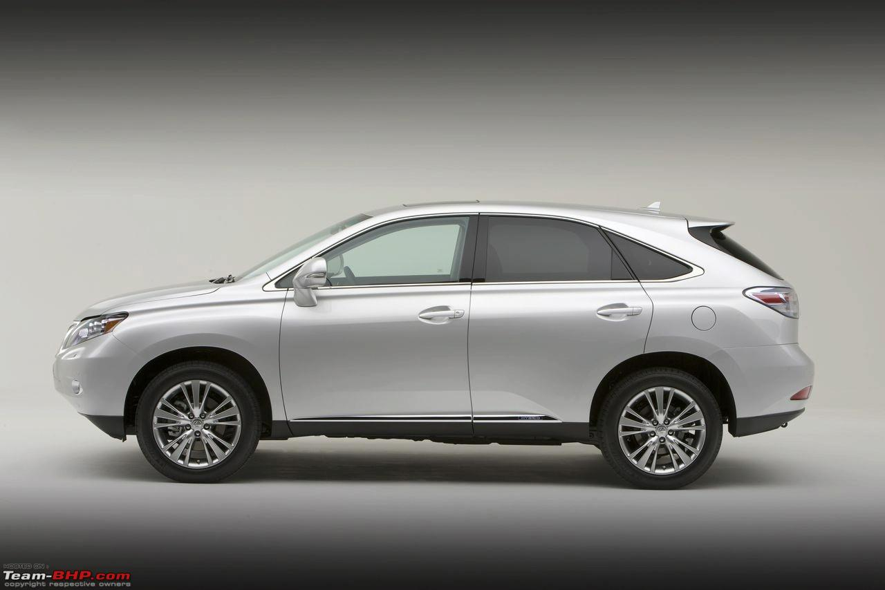 2010 Lexus Rx 350 And 450h Brochure Images Leaked All New