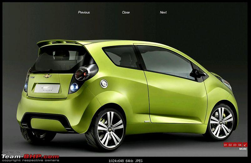 Chevrolet Spark ( Beat ) - LA motor show 2011-side-view.jpg