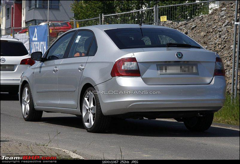 European Skoda Rapid Spotted; All new car based on Mission L concept-1.jpg