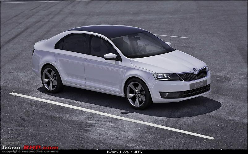 European Skoda Rapid Spotted; All new car based on Mission L concept-iaa2011-skodamissionl.jpg