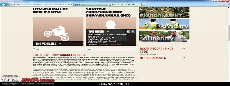 C S Santosh is the first Indian to participate in Dakar Rally-picture-3.jpg