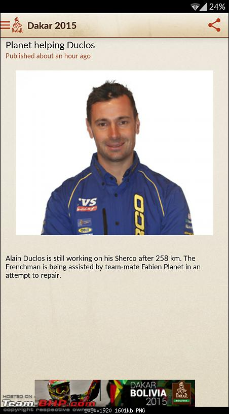 C S Santosh is the first Indian to participate in Dakar Rally-screenshot_20150113213332.png