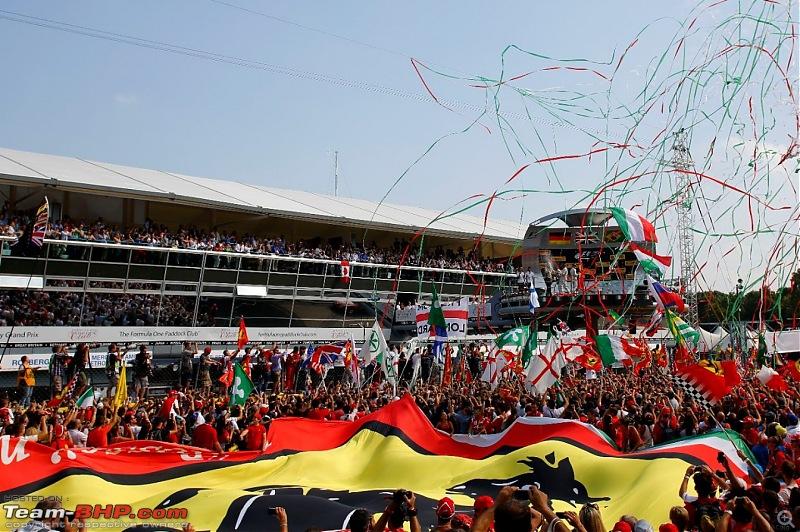 2015 Formula 1 Italian GP : Gran Premio d'Italia, Monza-monza-celebrations.jpg
