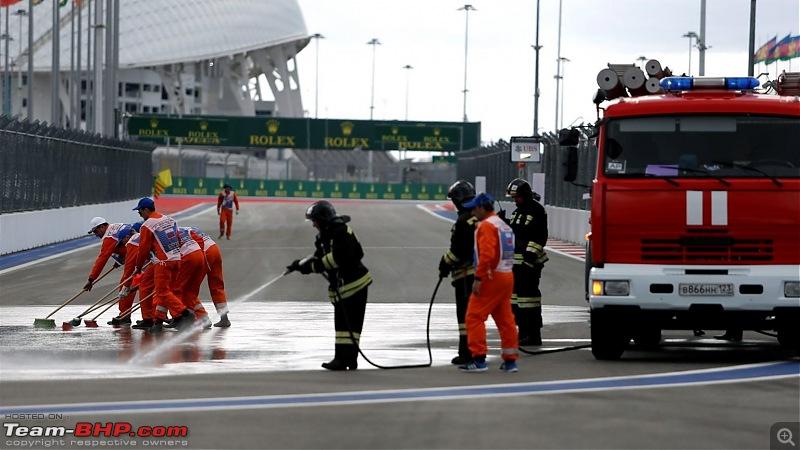2015 Formula 1 Russian GP - Sochi-diesel-spill-2.jpg