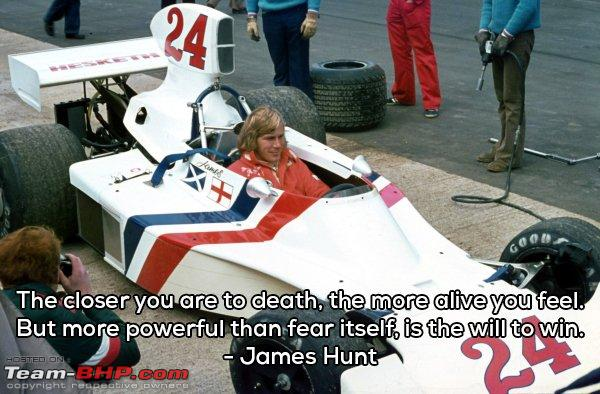 F1 Some Inspirational Quotes To Make Your Day Team Bhp