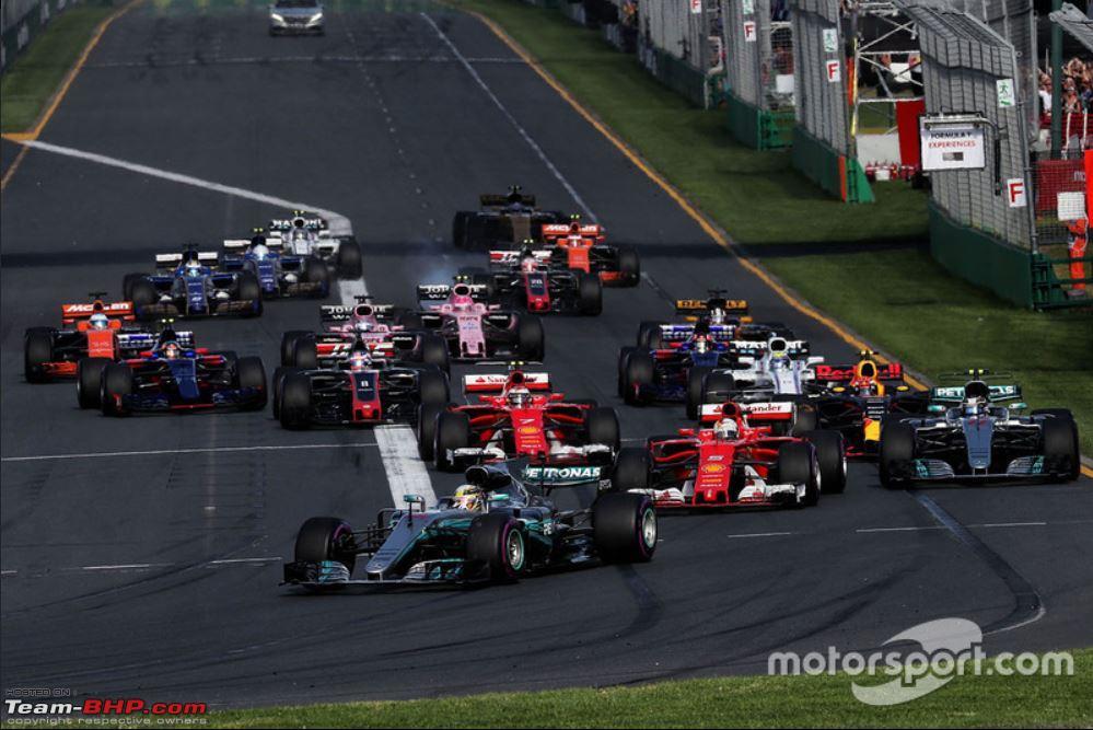 Formula 1: The 2018 Australian Grand Prix - Team-BHP