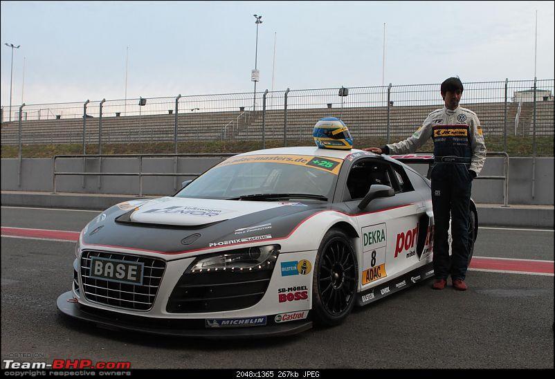 Aditya Patel signs 3 Year Contract with Audi. EDIT: Won the 24 hours of Nürburgring!-aditya_r8.jpg