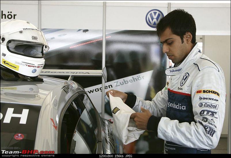 Oshan Kothadia makes debut in VW Scirocco Cup-vw1205050509.jpg