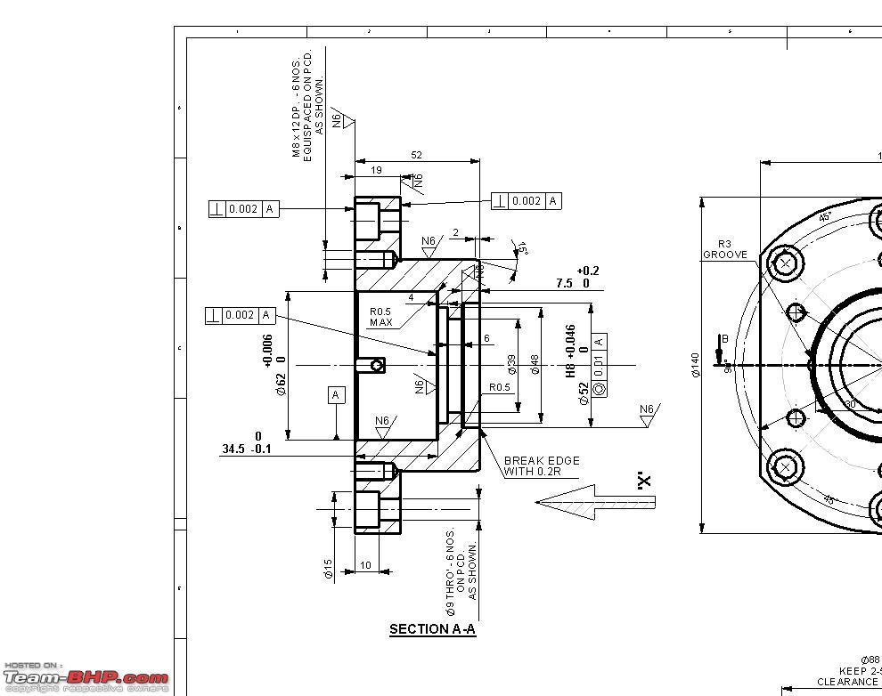Bearing Puller Assembly Drawing : Hello from akshay team bhp