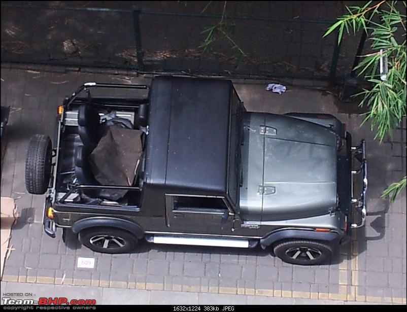 Call of the wild - Mahindra Thar CRDe-top-view.jpg