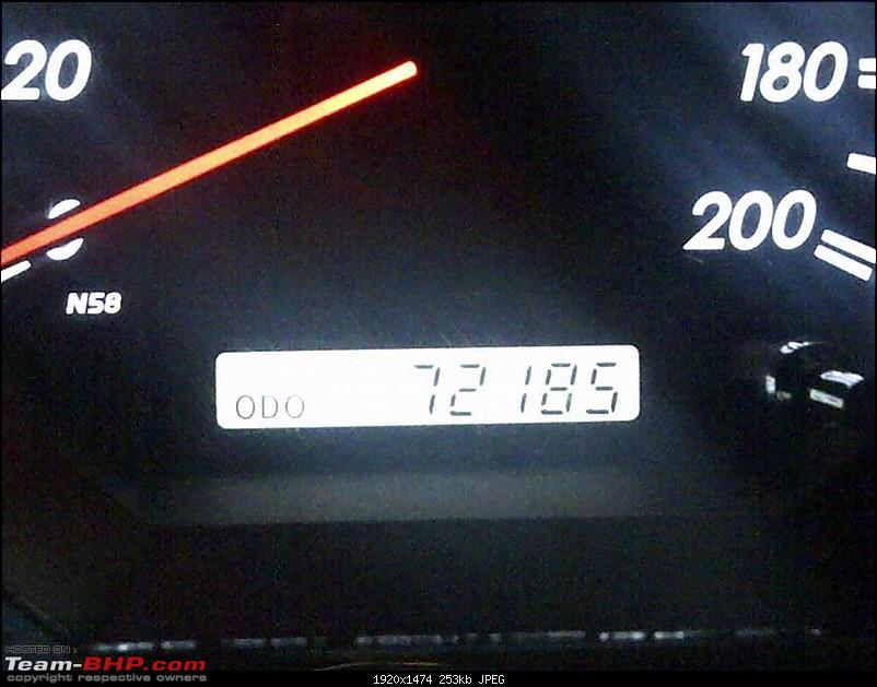 Obelix, the Invincible Toyota Fortuner! 1,67,000 km and going strong!-kms.jpg