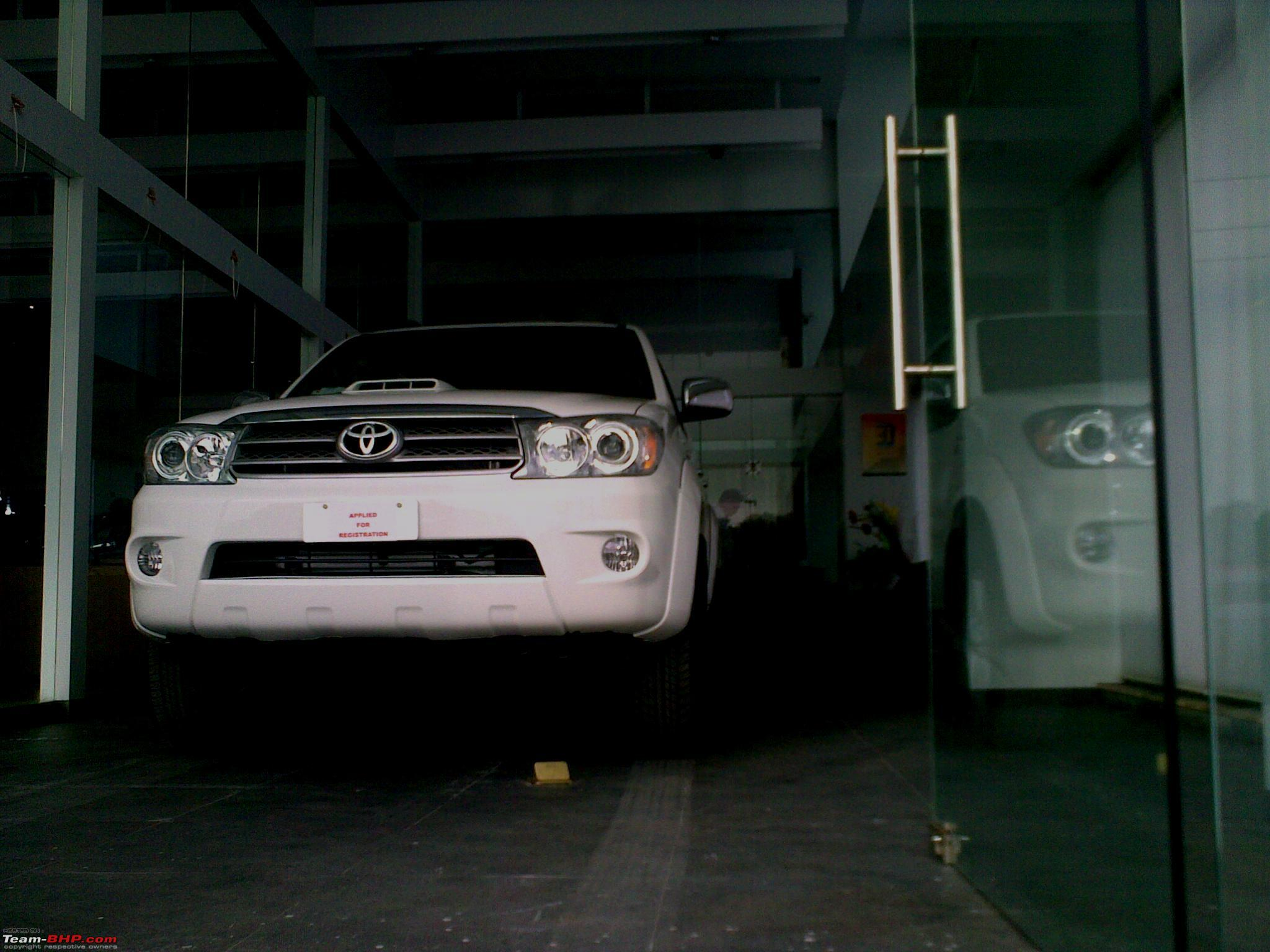 My BRUTE-FORT: Toyota Fortuner 4x4 M/T [Upgraded Brake Booster & A/T