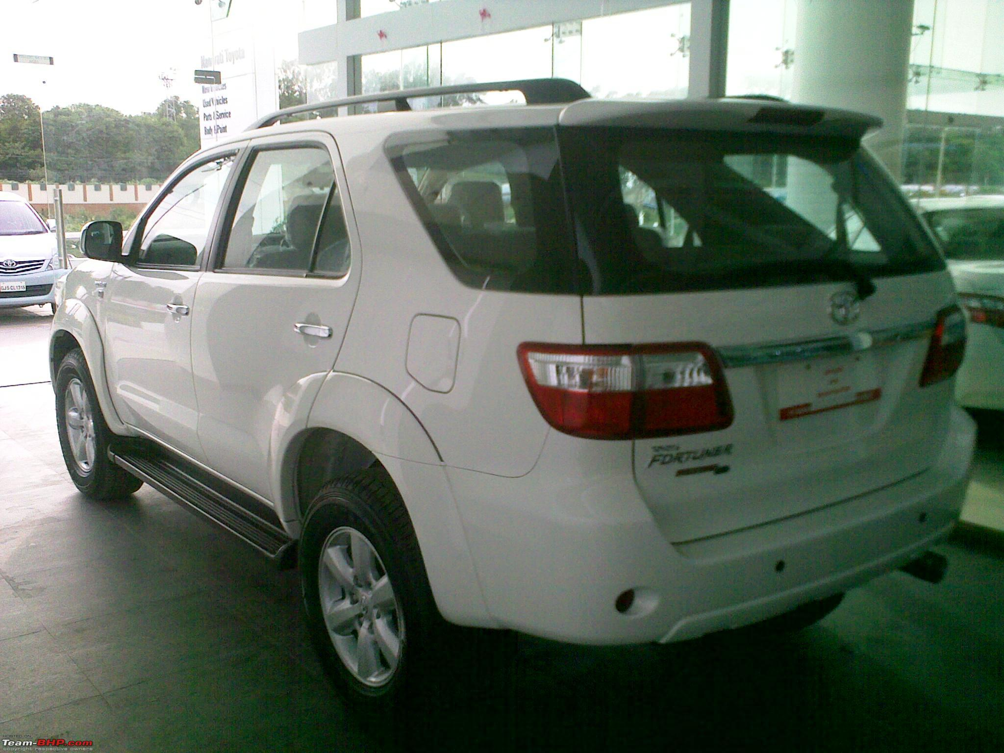 My brute fort toyota fortuner 4x4 m t upgraded brake booster