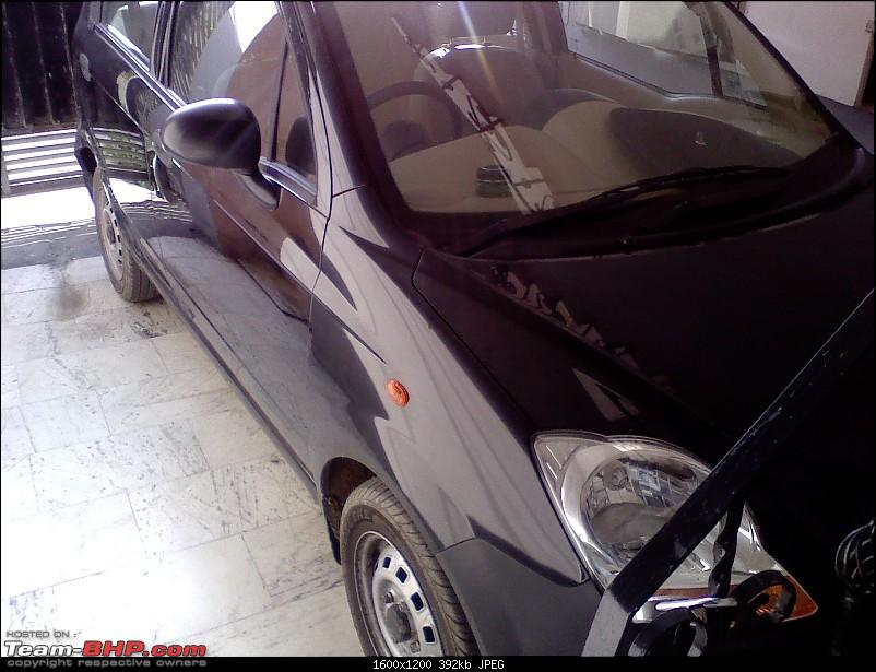 Moved from a Honda City to Chevy Spark! Learnings from the downgrade-parked.jpg