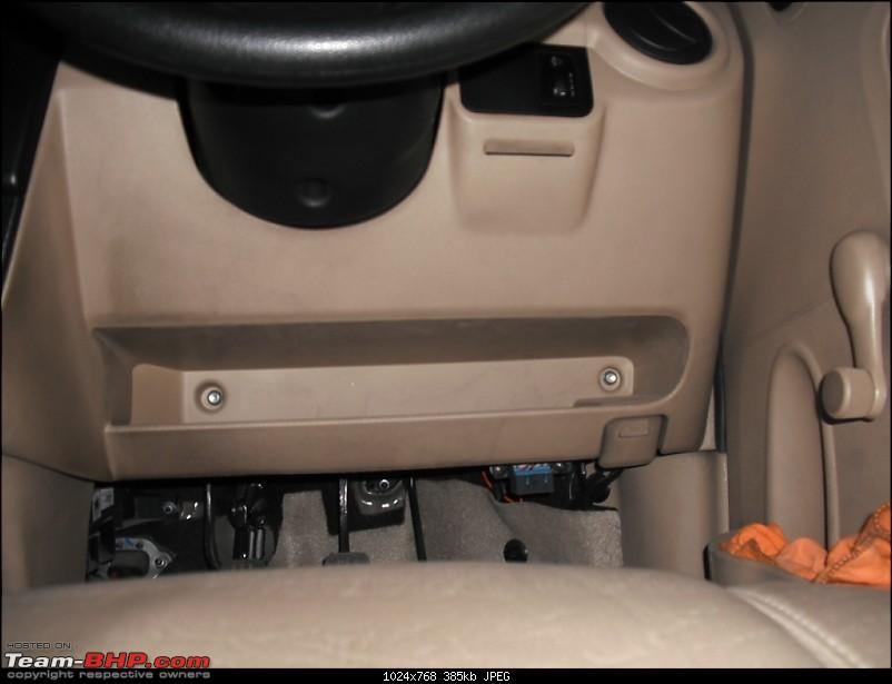 Moved from a Honda City to Chevy Spark! Learnings from the downgrade-below-dashboard-space.jpg