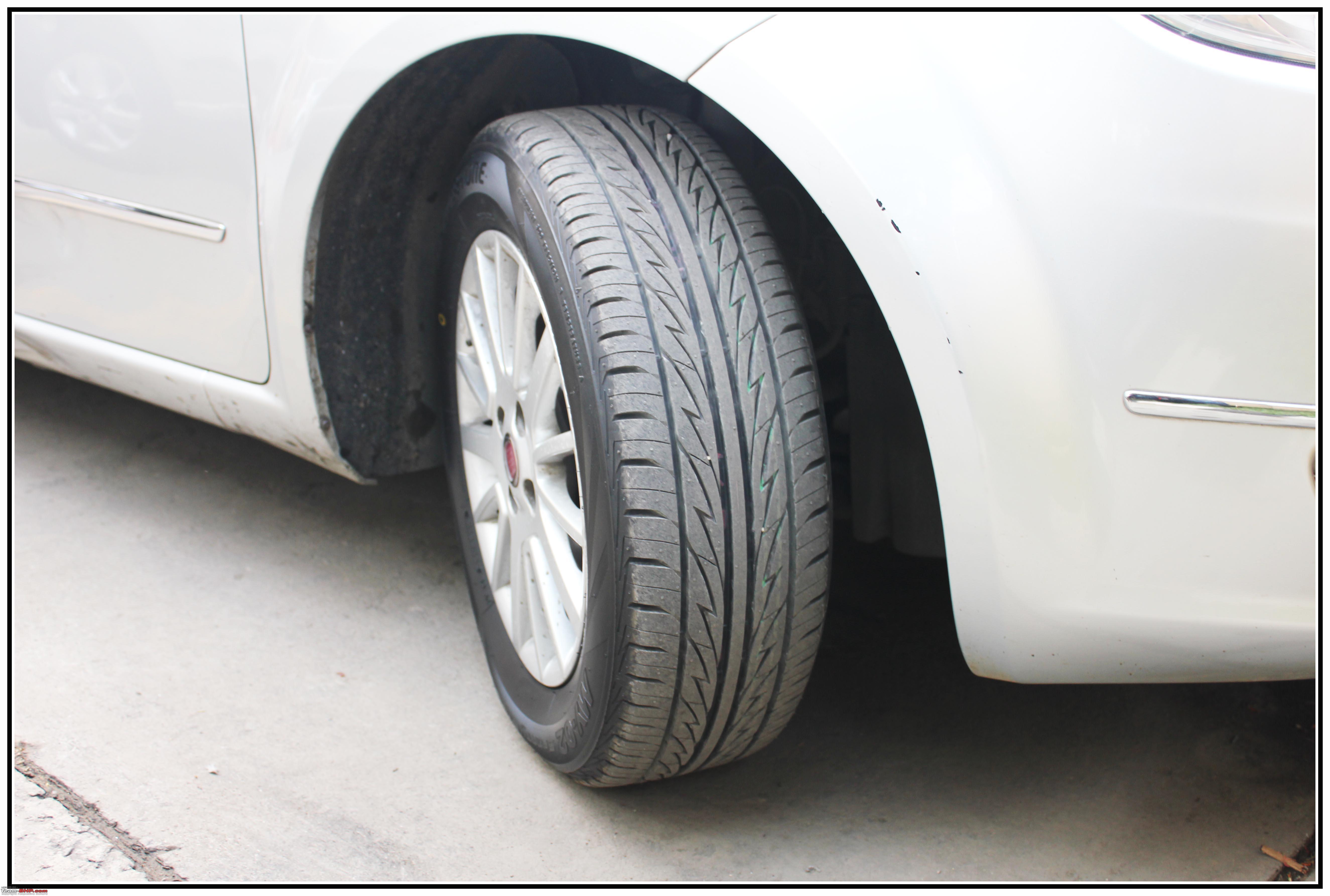 My Cng Linea 14 E 46000 Kms Update Page 18 Team Bhp Ban Mobil Bridgestone Techno Sport 195 50 R16 Vocer Img 2680 Copy