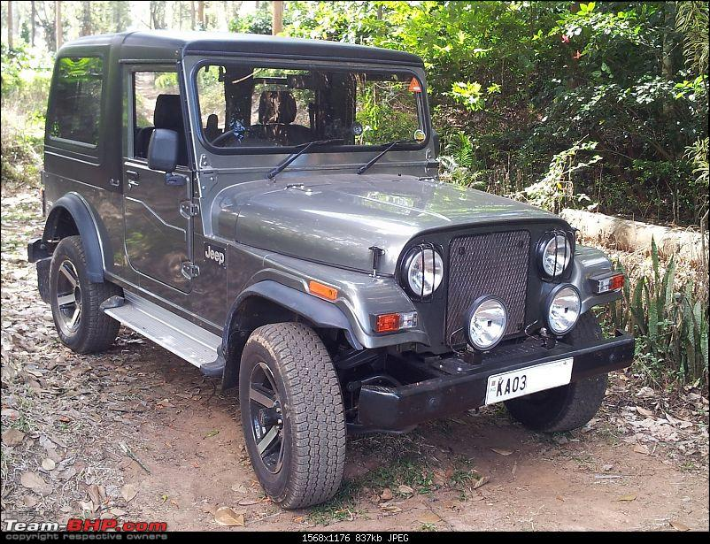 Call of the wild - Mahindra Thar CRDe-jeep-front-right.jpg