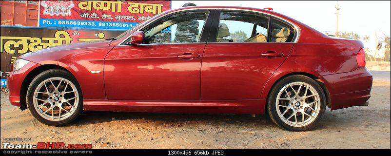 My very own Vermillion Red BMW 320d *EDIT: 53,000km done!*-side-profile-after.jpg