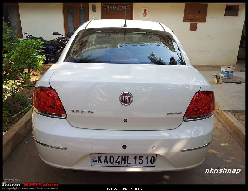 Petrol Hatch to Diesel Sedan - Fiat Linea - Now Wolfed-20130324_091252.jpg