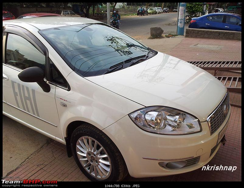 Petrol Hatch to Diesel Sedan - Fiat Linea - Now Wolfed-20130427_172401.jpg