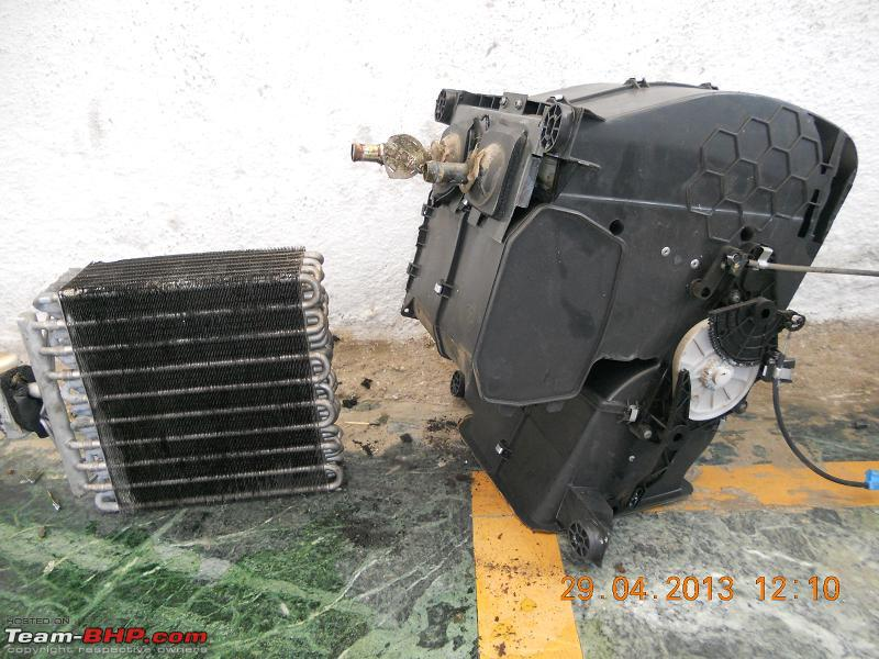 Name:  Cleaned Cooling coil  Heater Assly with flap adjustment mechanism.JPG Views: 6815 Size:  147.8 KB