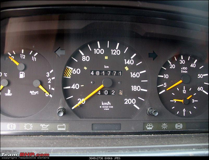 High 'mileage' Mercedes W124, or just nicely run-in?-img_35301.jpg