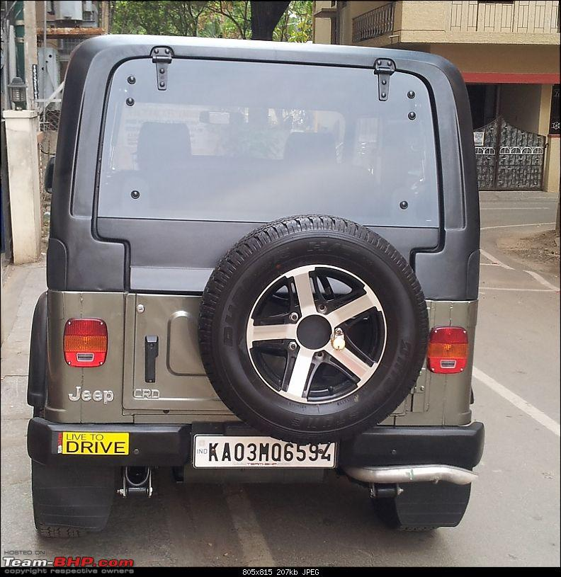 Call of the wild - Mahindra Thar CRDe-rear-view.jpg