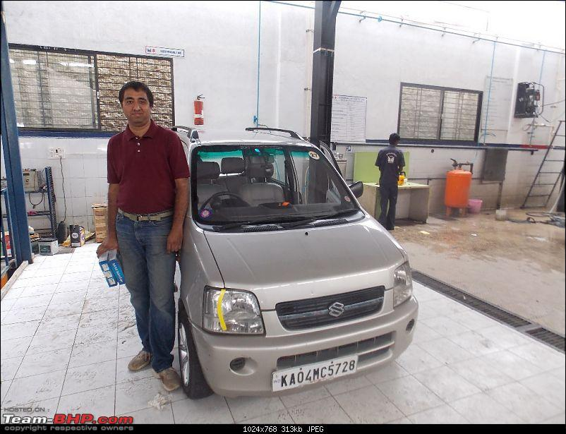 Maruti Wagon-R F10D: 223,000 kms & the first accident. Edit: Now fixed-front-me.jpg