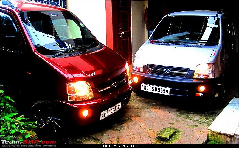 Maruti Wagon-R F10D: 223,000 kms & the first accident. Edit: Now fixed-.jpg