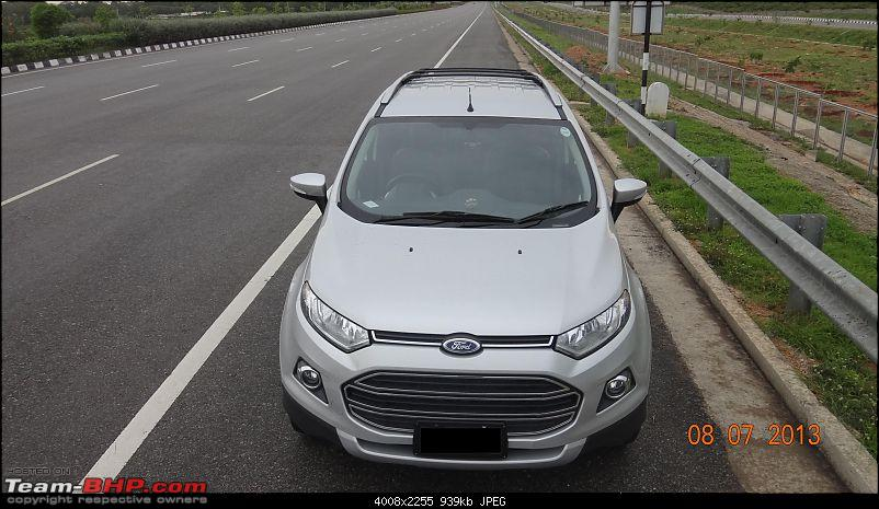 My Silver Ford EcoSport Titanium (O) TDCi. First delivered in India!-1.jpeg