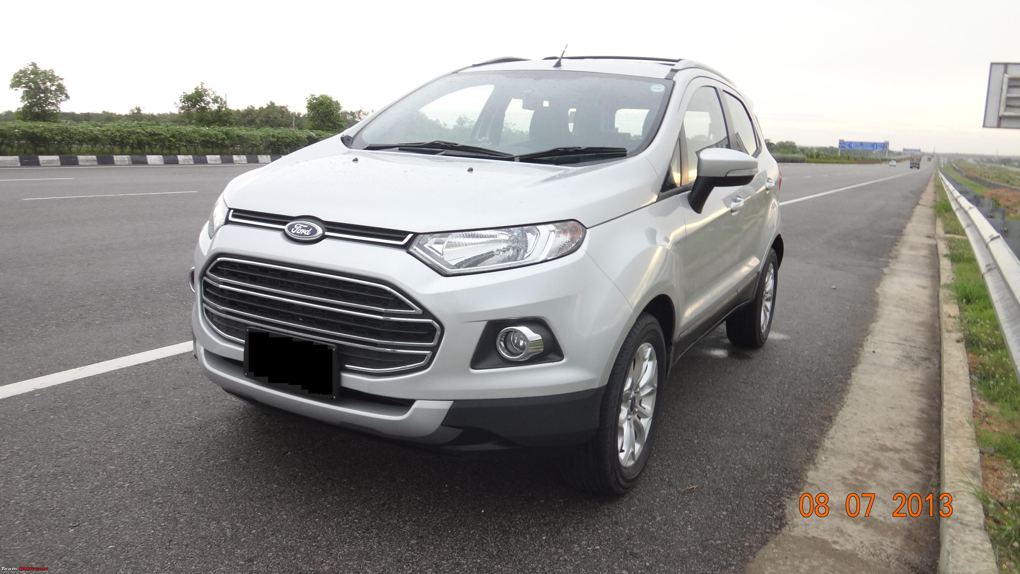 my silver ford ecosport titanium o tdci first delivered. Black Bedroom Furniture Sets. Home Design Ideas
