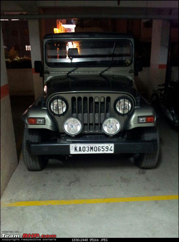 Call of the wild - Mahindra Thar CRDe-front.jpg