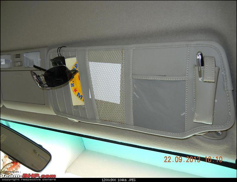 Got Fortune'd: White Toyota Fortuner Edit: Sold!-sun-visor-organizer.jpg