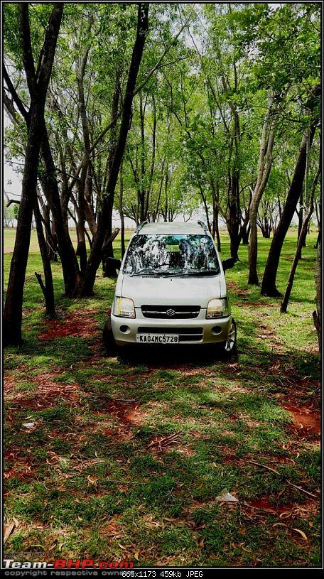 Maruti Wagon-R F10D: 223,000 kms & the first accident. Edit: Now fixed-20130922_123615.jpg