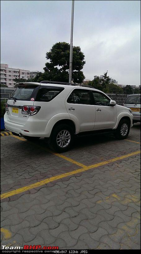 Got Fortune'd: White Toyota Fortuner-3-parked-experience.jpg