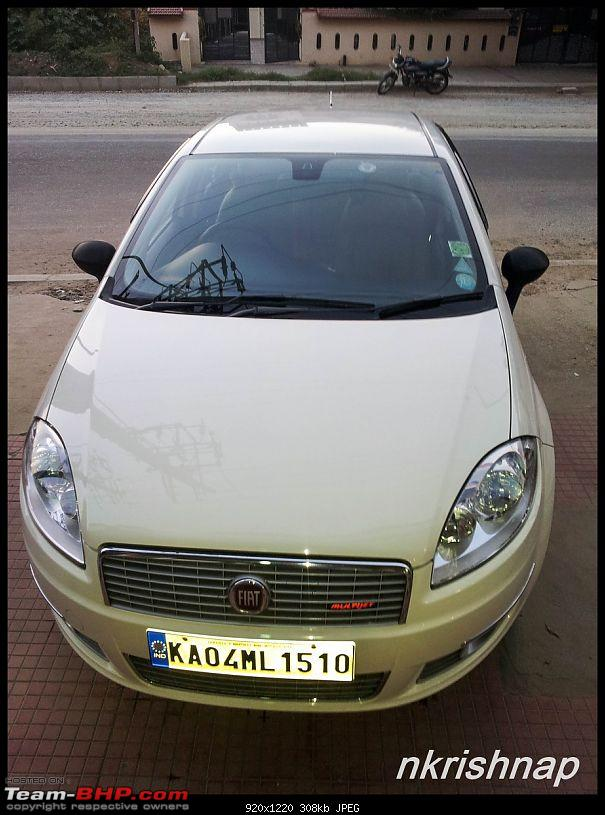 Petrol Hatch to Diesel Sedan - Fiat Linea - Now Wolfed-after-wash-5.jpg