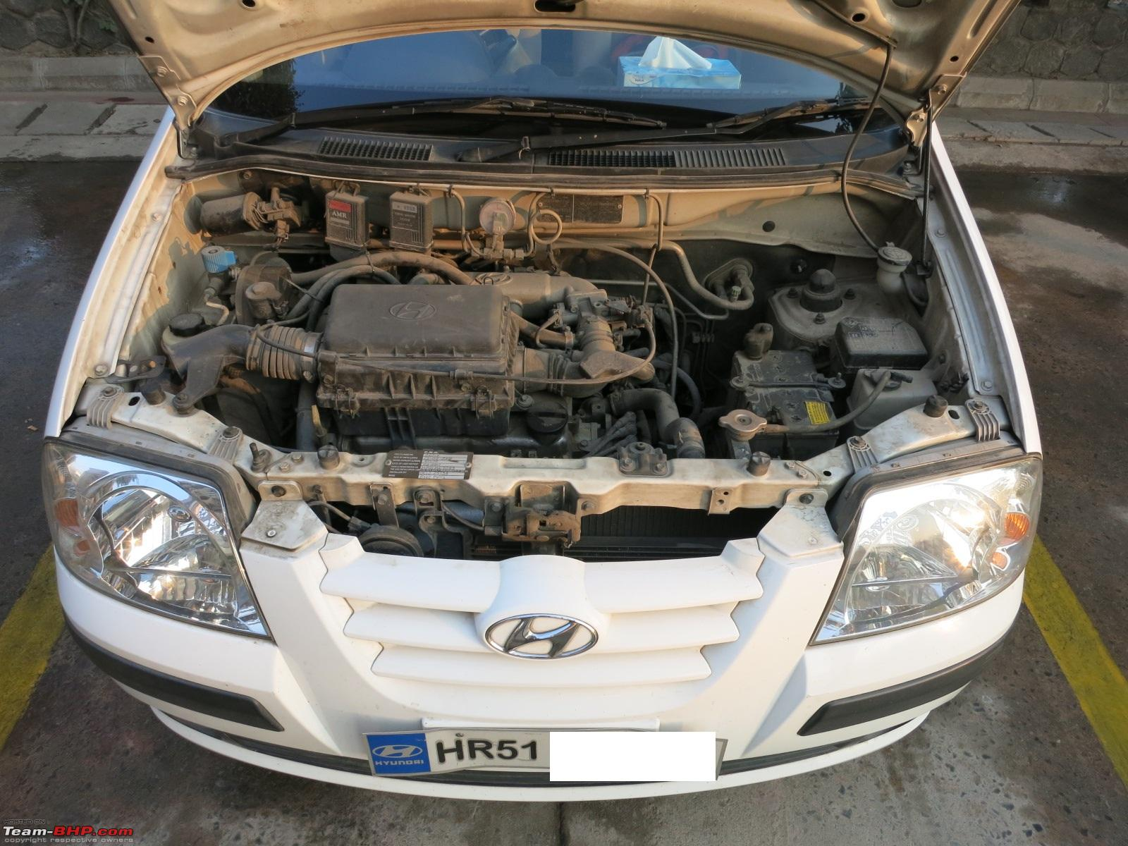 Cheapest Car On Gas >> Sensible Hyundai Santro CNGified: 60k Kms & counting - Team-BHP