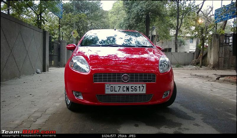 Fiat Grande Punto: 50 months & 90,000 kms. EDIT: Now sold-wp_20131231_001.jpg
