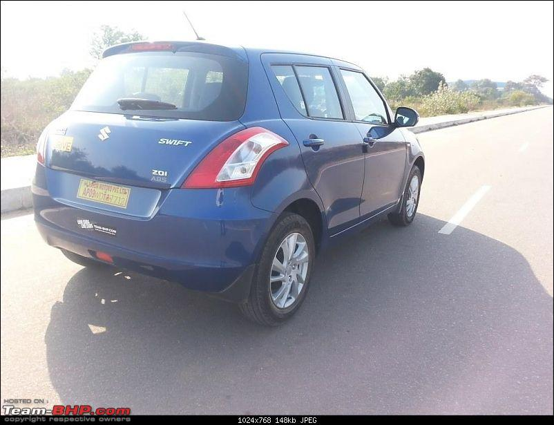 The story of a Blue Streak a.k.a Maruti Swift ZDi (Torque Blue). EDIT: 1,00,000 km up!-20140103_145451.jpg