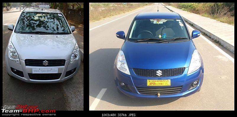 The story of a Blue Streak a.k.a Maruti Swift ZDi (Torque Blue). EDIT: 1,11,111 km up!-front-view-.jpg