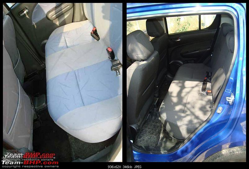 The story of a Blue Streak a.k.a Maruti Swift ZDi (Torque Blue). EDIT: 1,11,111 km up!-rear-seat.jpg
