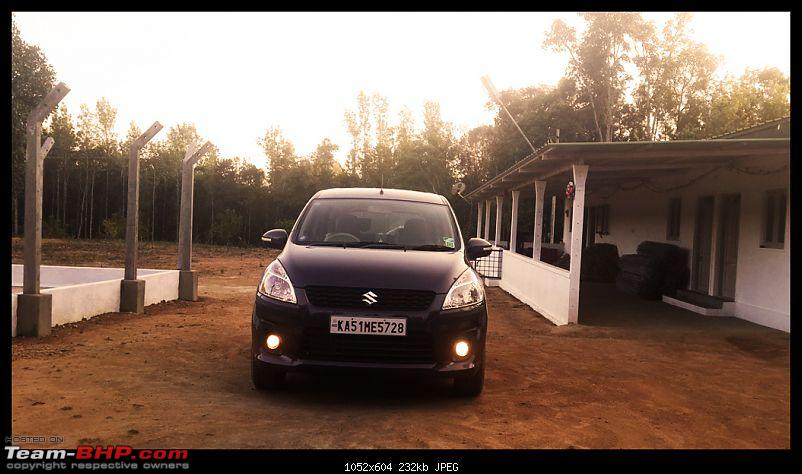 Tallboy welcomes longer companion: Maruti Ertiga VDi - The 200,000 Km update!-20140126_175425.jpg