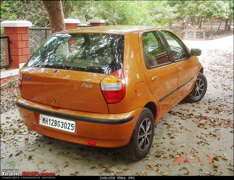 Cosmetic makeover of an ol' Fiat Palio 1.6 GTX. EDIT: Now @ 128K kms and 11 years-dsc06102.jpg