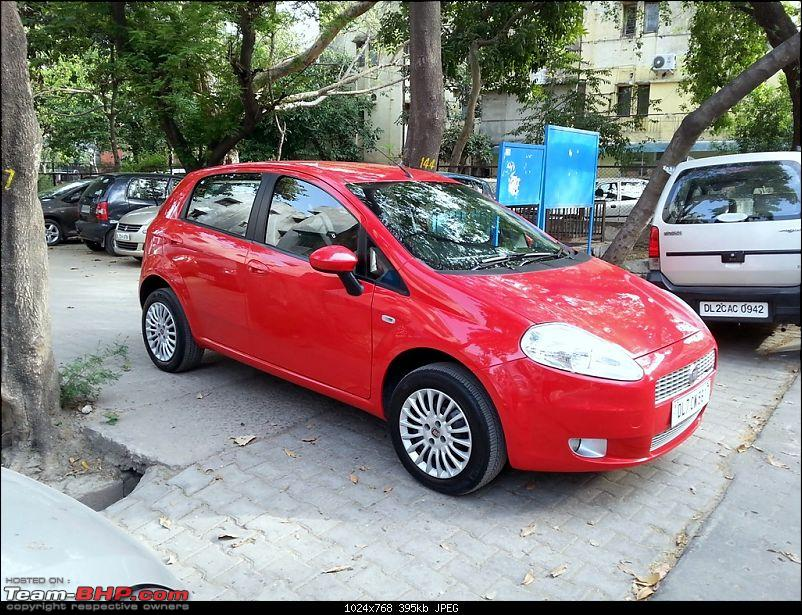 Fiat Grande Punto: 50 months & 90,000 kms. EDIT: Now sold-20140406_163645.jpg