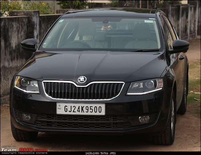 Love Hate Relationship: My Magic Black Skoda Octavia 1.8 TSI Elegance EDIT: 105,000 km update!-octy-front-drl-.jpg