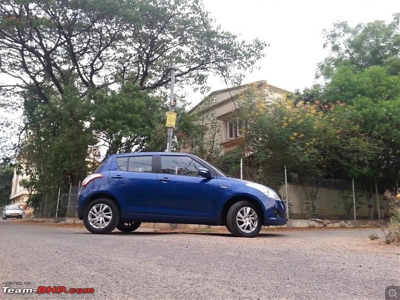 The story of a Blue Streak a.k.a Maruti Swift ZDi (Torque Blue). EDIT: 1,11,111 km up!-20140503_180304.jpg