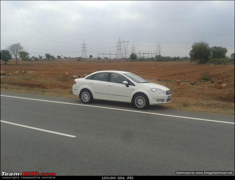 Unexpected love affair with an Italian beauty: Fiat Linea MJD. EDIT: 3 years and 1,07,310 km up!-hyd1.jpg